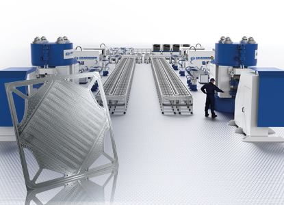 Production Lines for Bipolar Plates